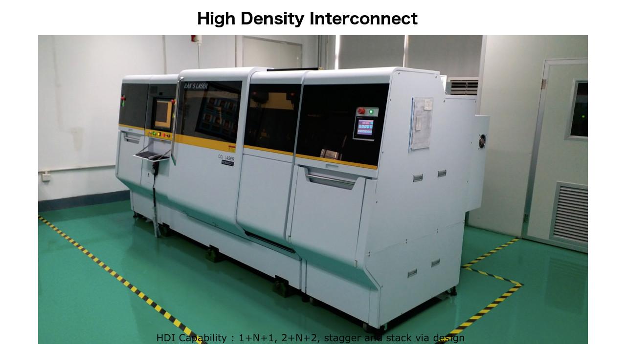 High Density Interconnect